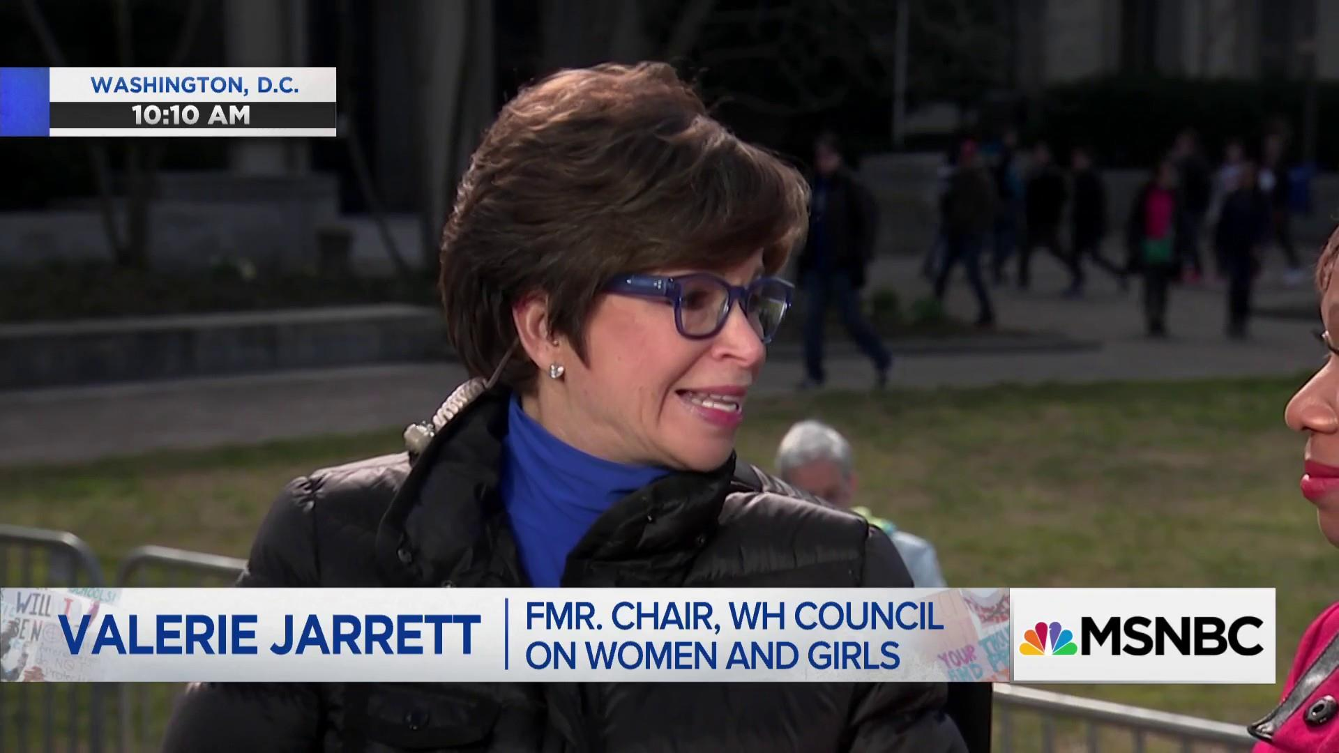 Jarrett on March for Our Lives students: They're not taking no for an answer