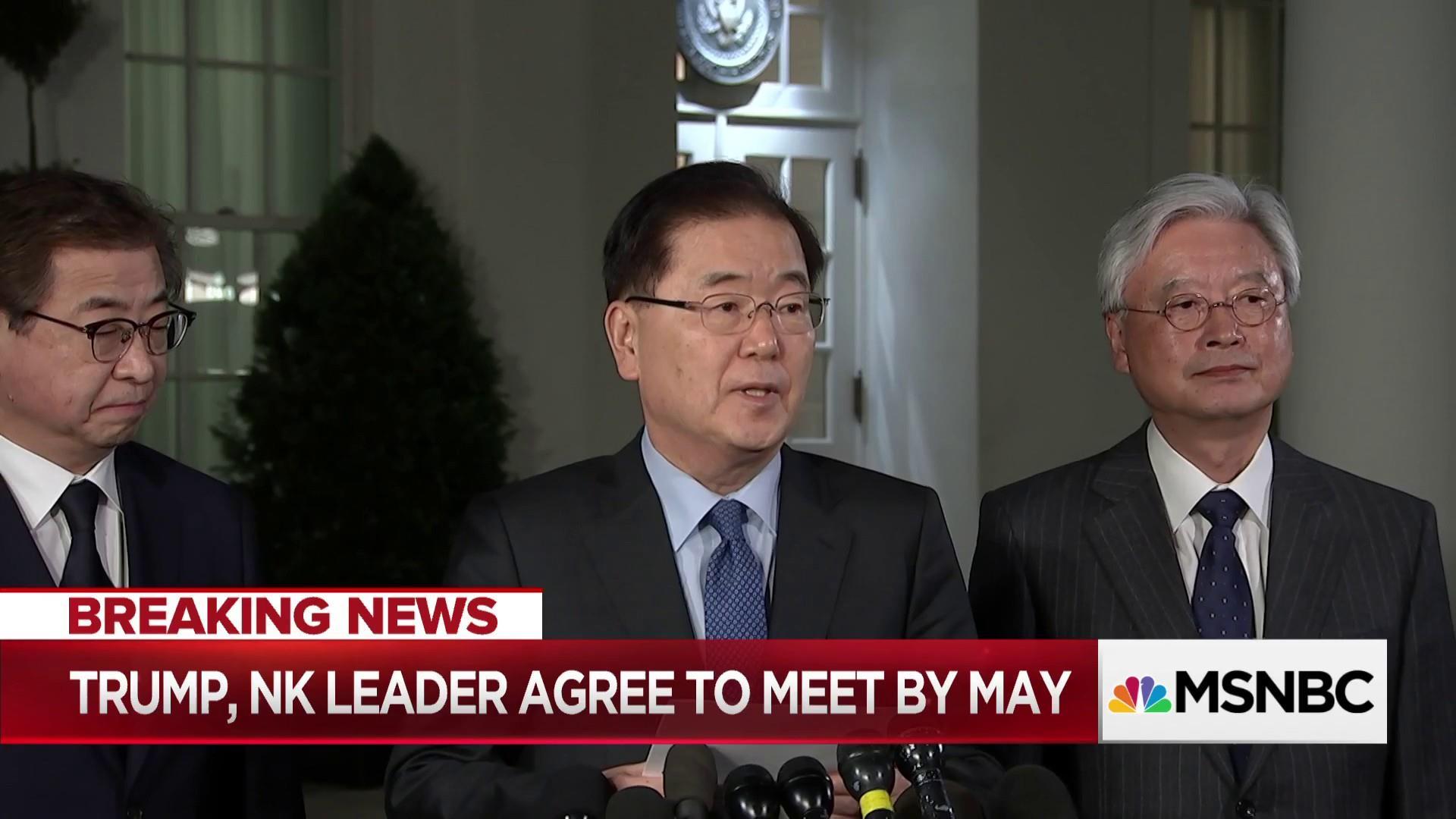 Trump meeting would end long precedent of North Korea as pariah