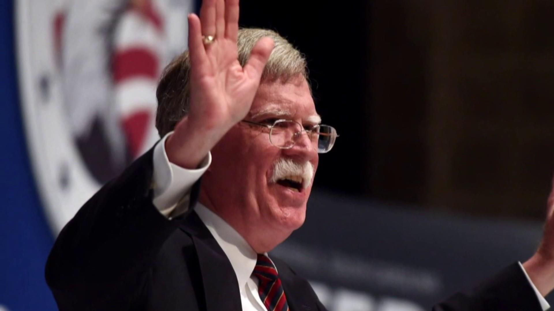 With Bolton, Trump assembles a 'war cabinet'
