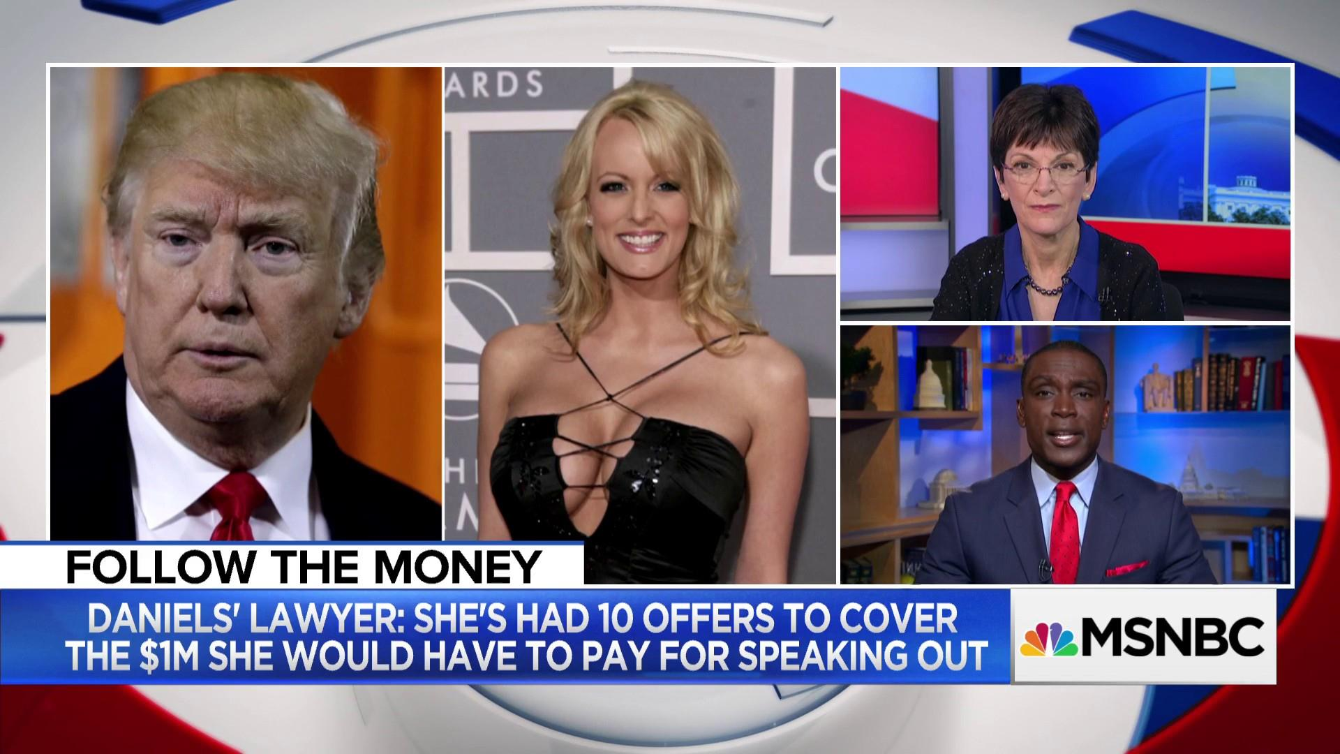 Hush money to Stormy Daniels could break election donation rules