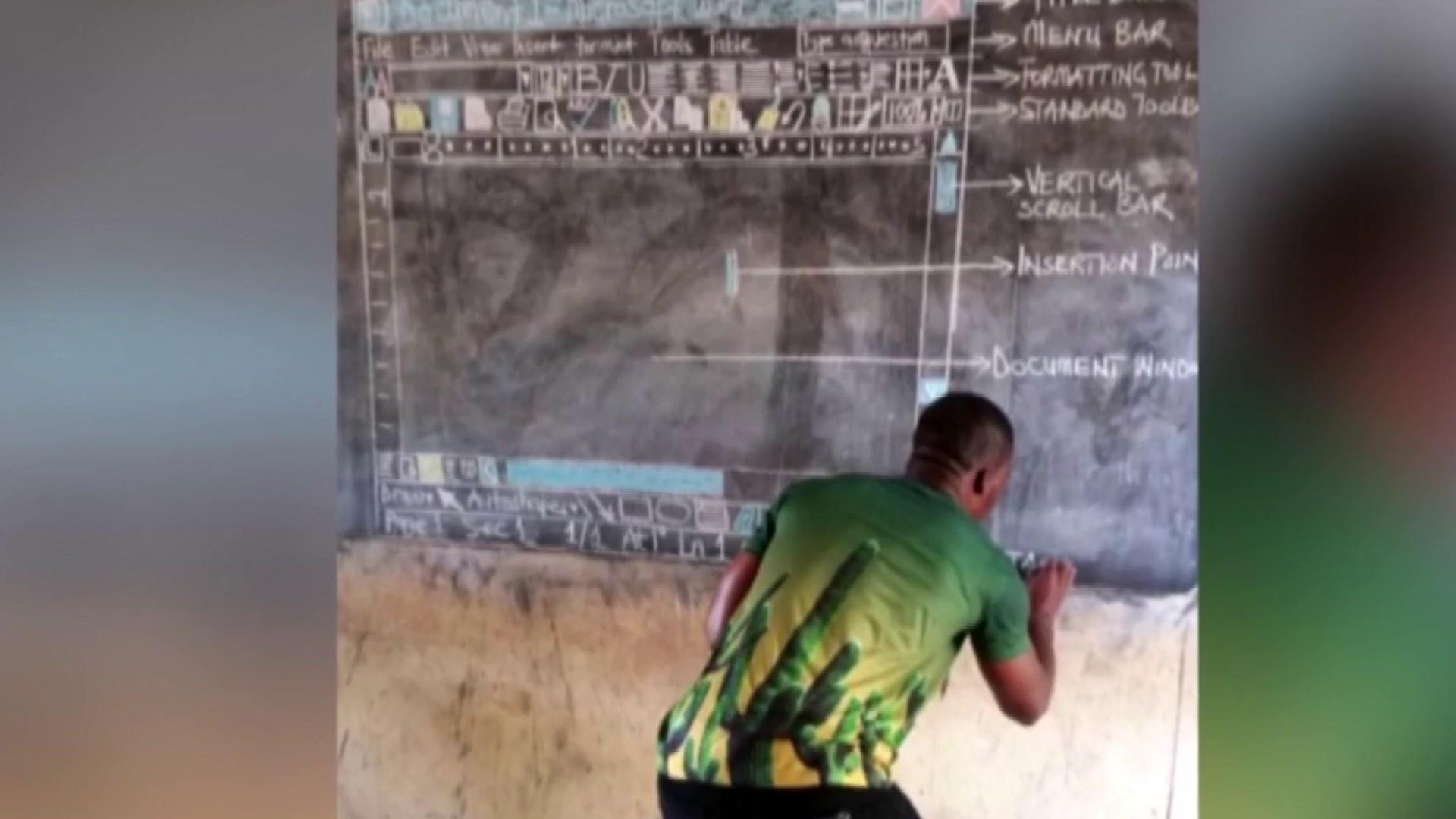 #GoodNewsRuhles: Ghana teacher taught students about Microsoft word without a computer