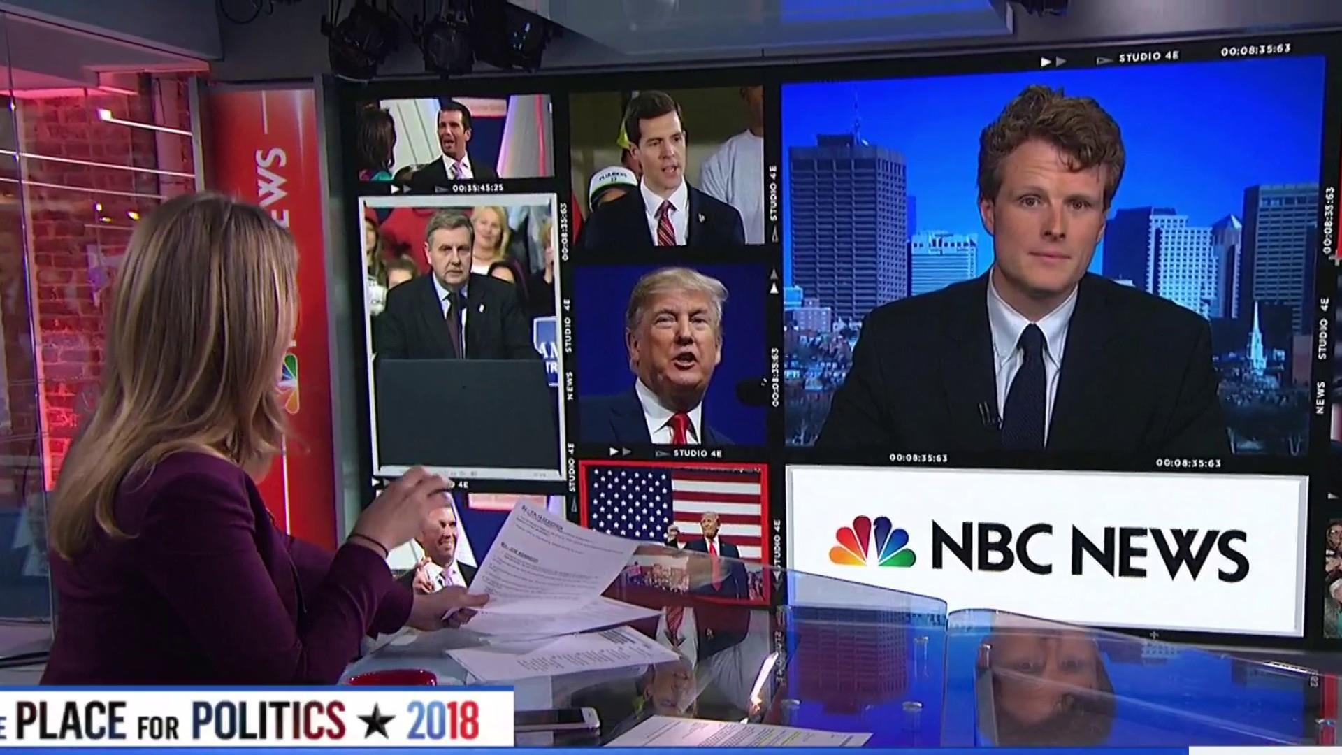 Rep. Joe Kennedy III Stumps for Conor Lamb in Trump Country
