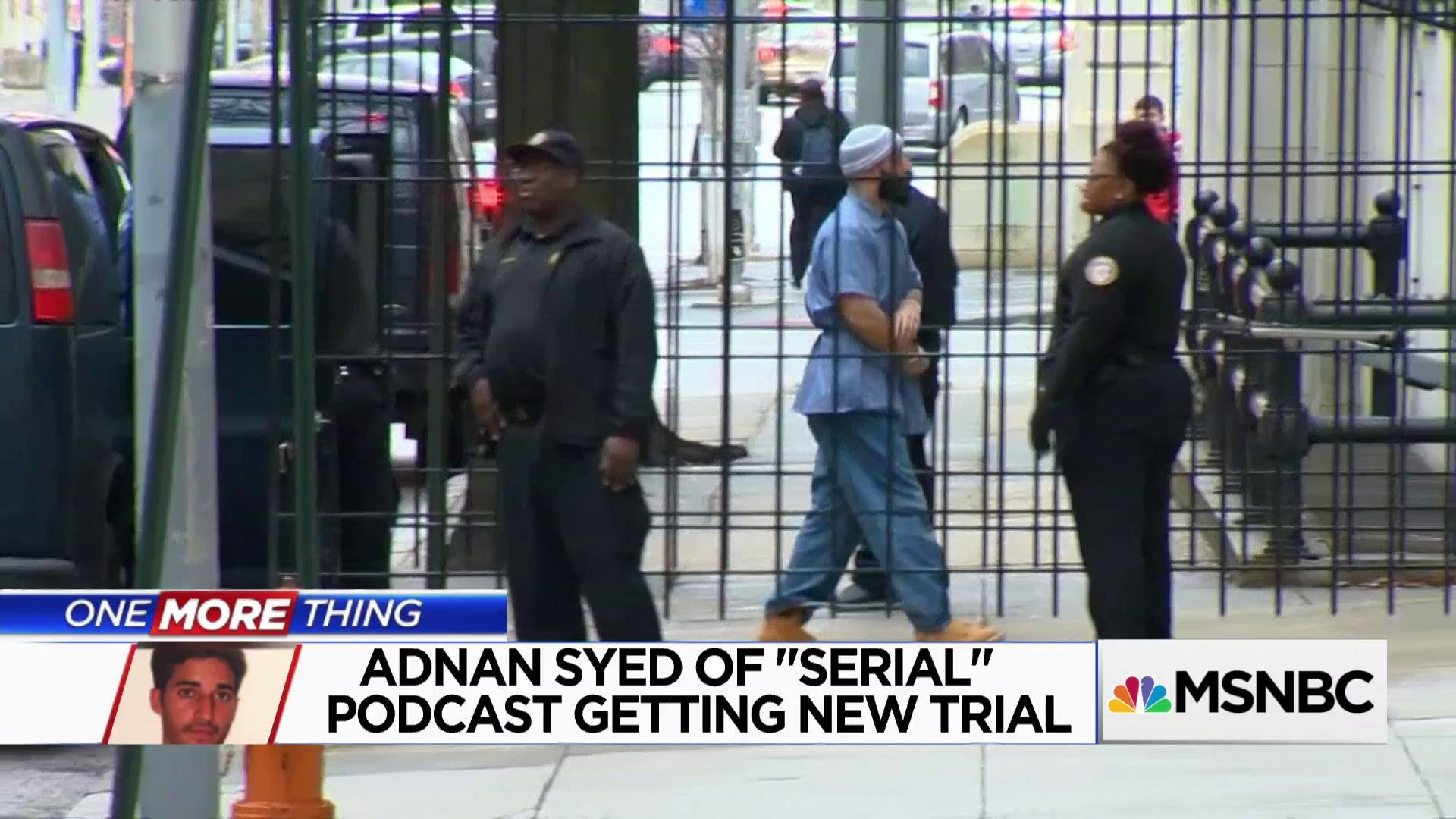 One More Thing: 'Serial' Podcast subject granted retrial