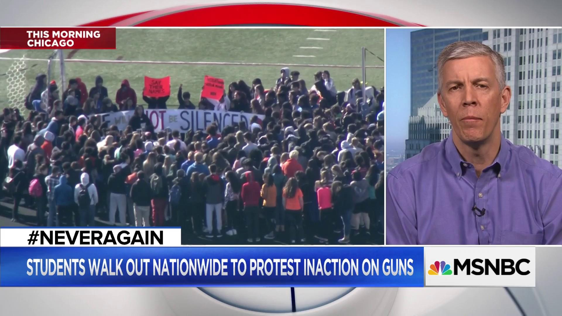 Chicago students demand action on gun violence