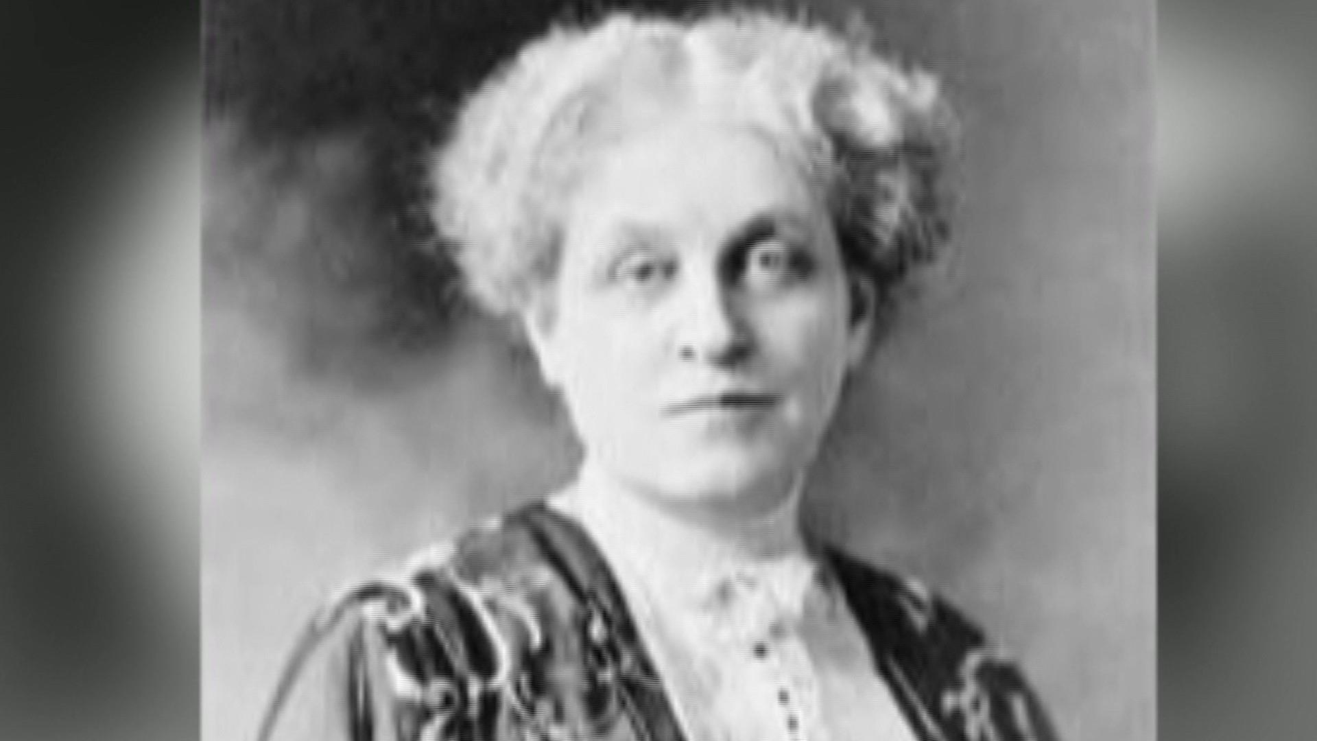 School teacher turned activist Carrie Chapman Catt is a Monumental American