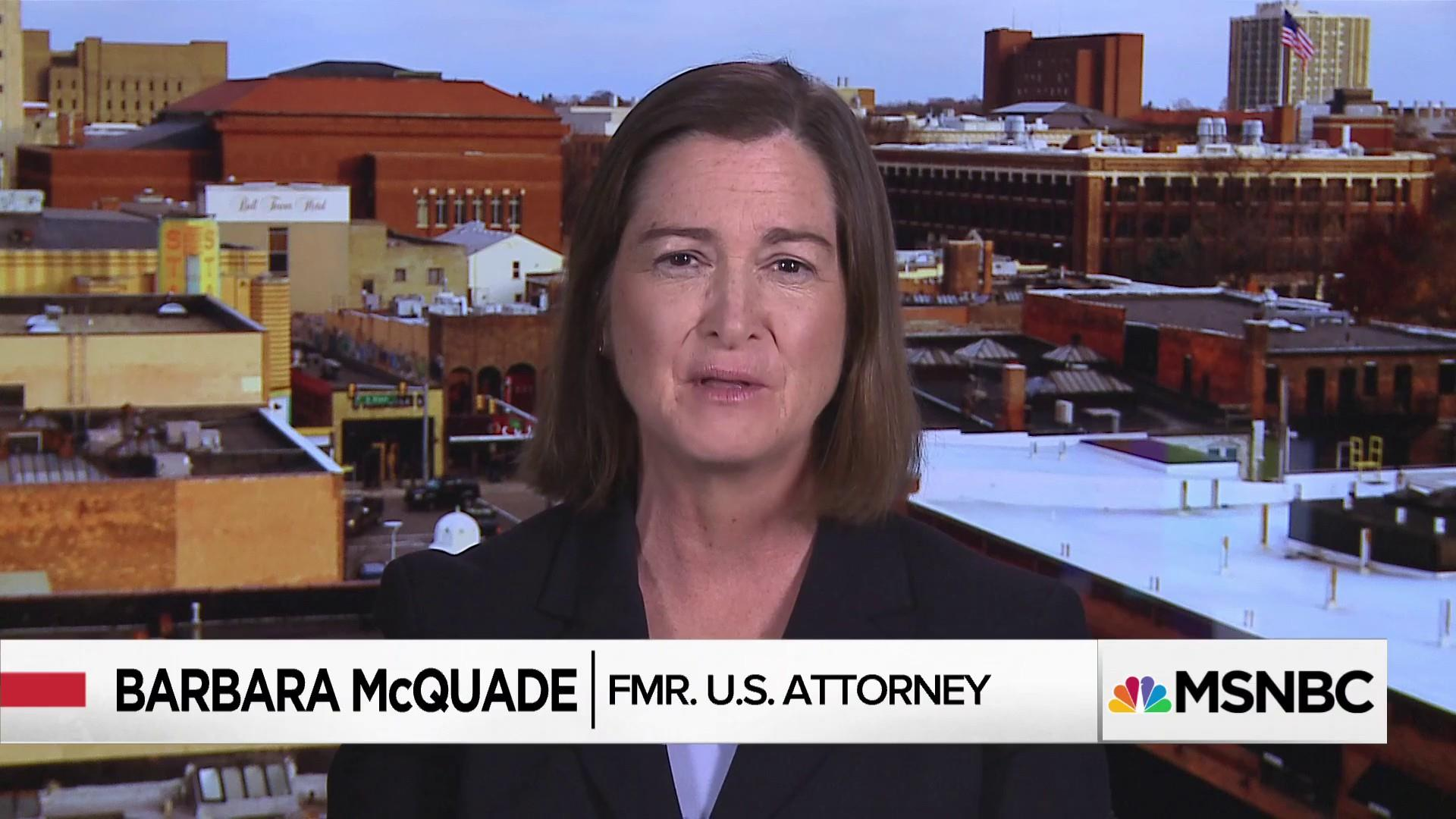Fmr. U.S. Atty: 'Risk is too high' for attorneys to join ...