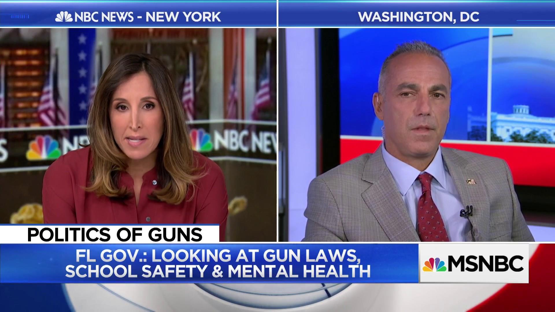 Parkland father 'It's about securing schools'