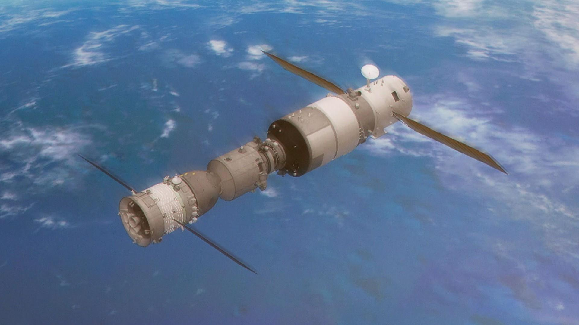 Where will free-falling space station land on Earth ...
