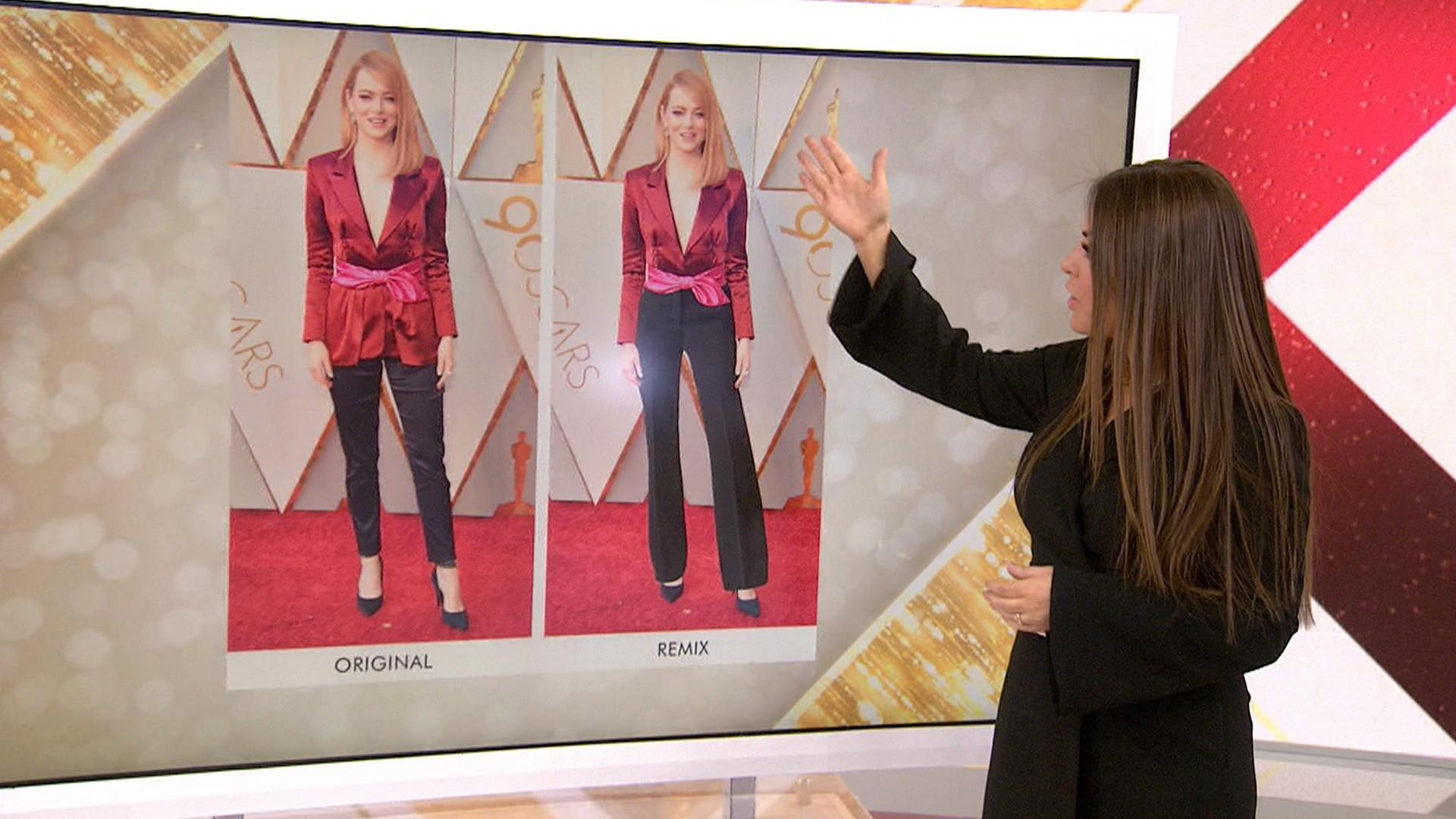 Oscar red carpet remix Bobbie Thomas tweaks the stars looks NBC News