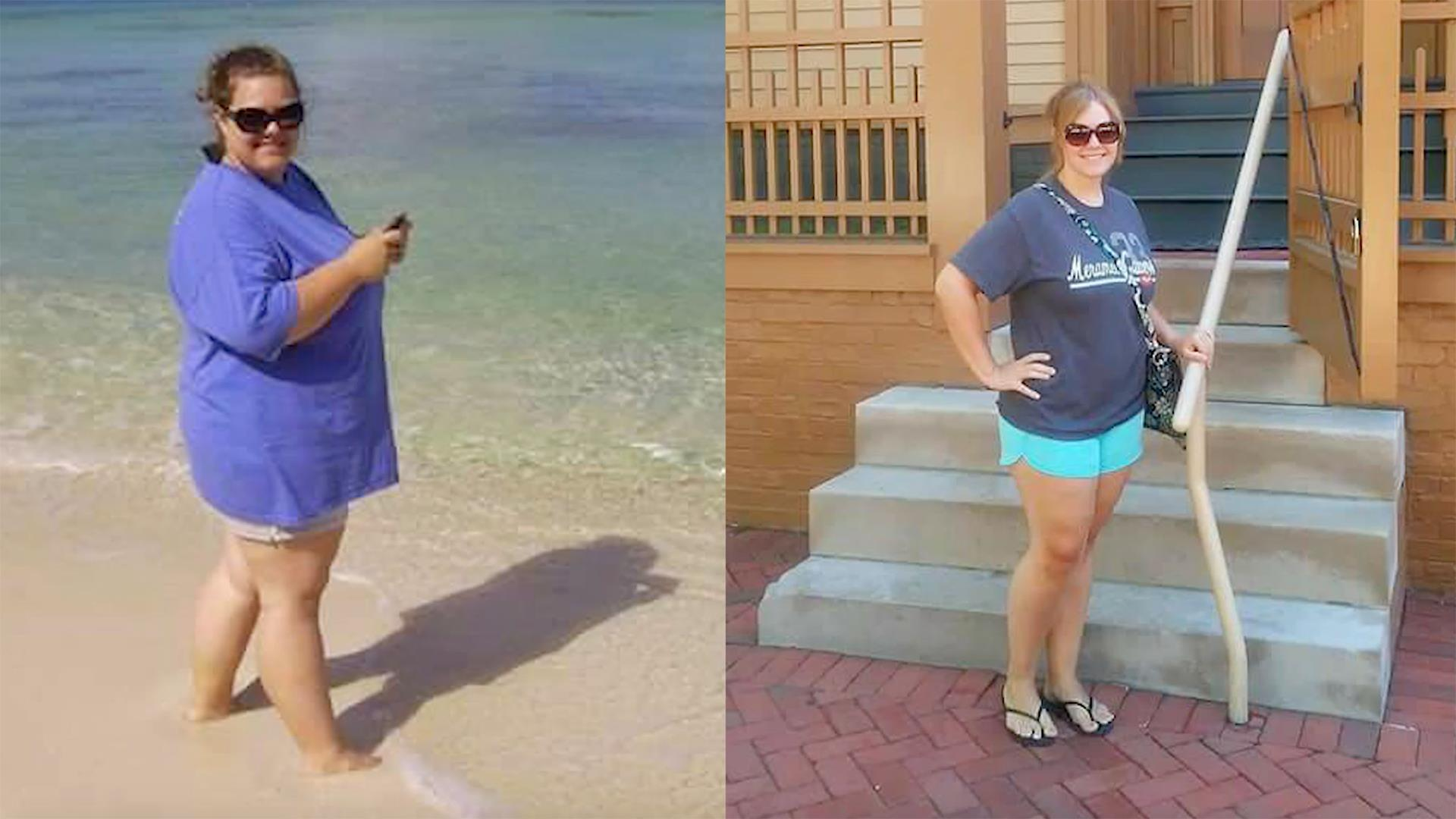 Following 3 steps helped this woman lose 100 pounds