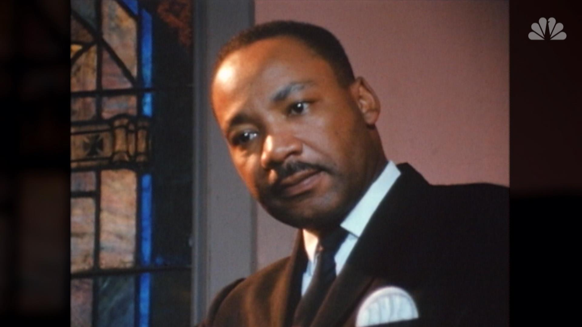 Martin Luther King Jr Speaks With Nbc News 11 Months Before