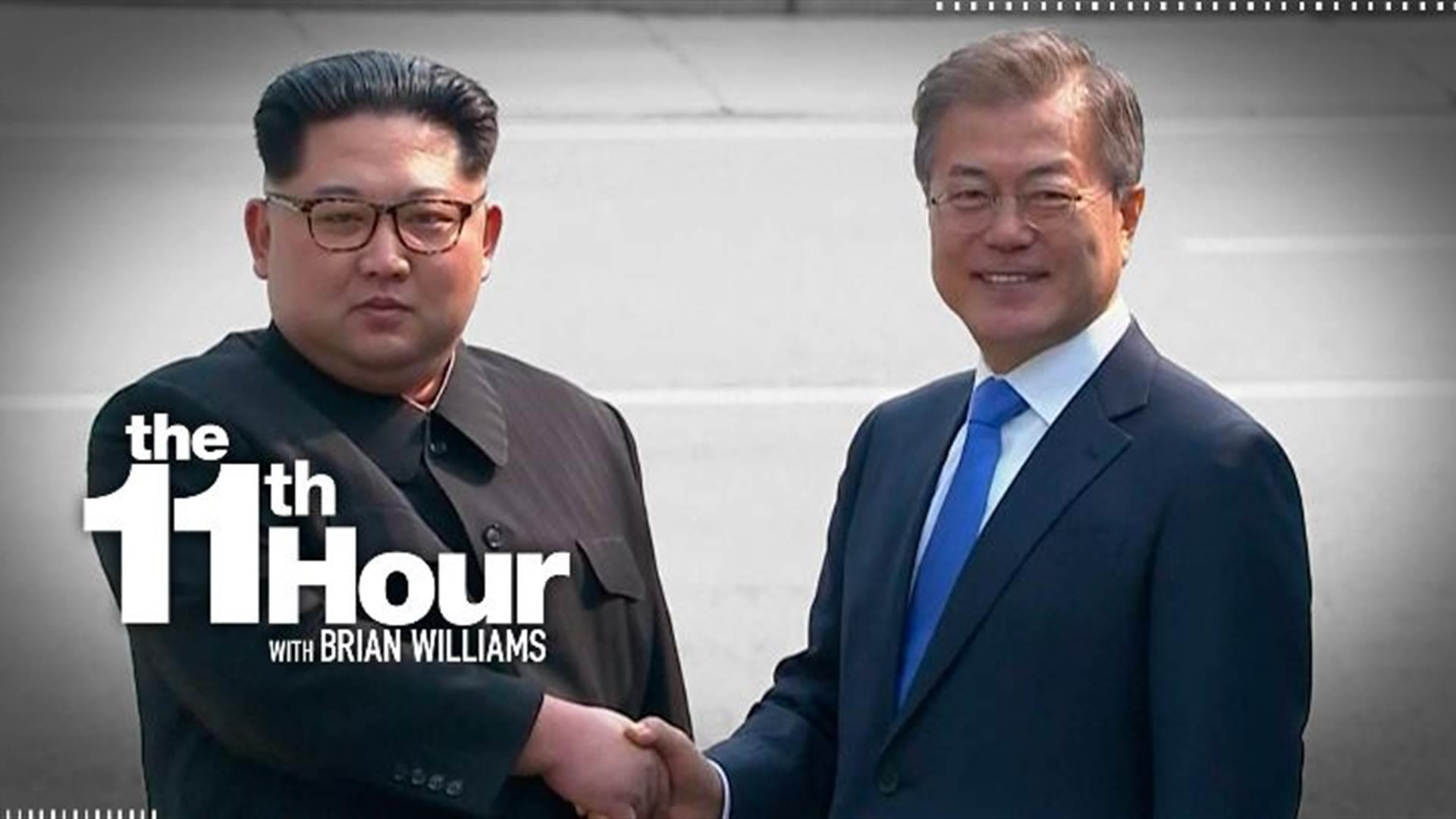 North Korean & South Korean leaders hold historic talks at DMZ