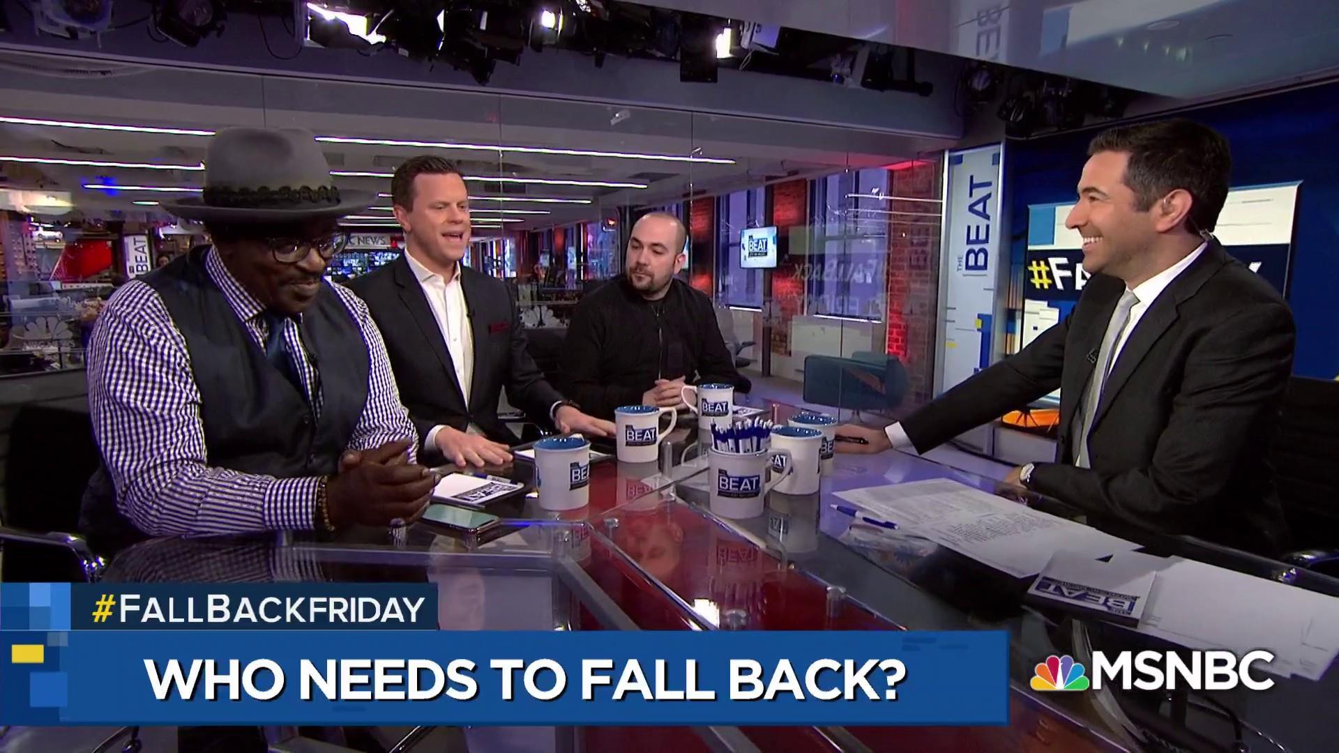 Fab 5 Freddy: John Boehner, 'fall back' for ignoring pot convictions