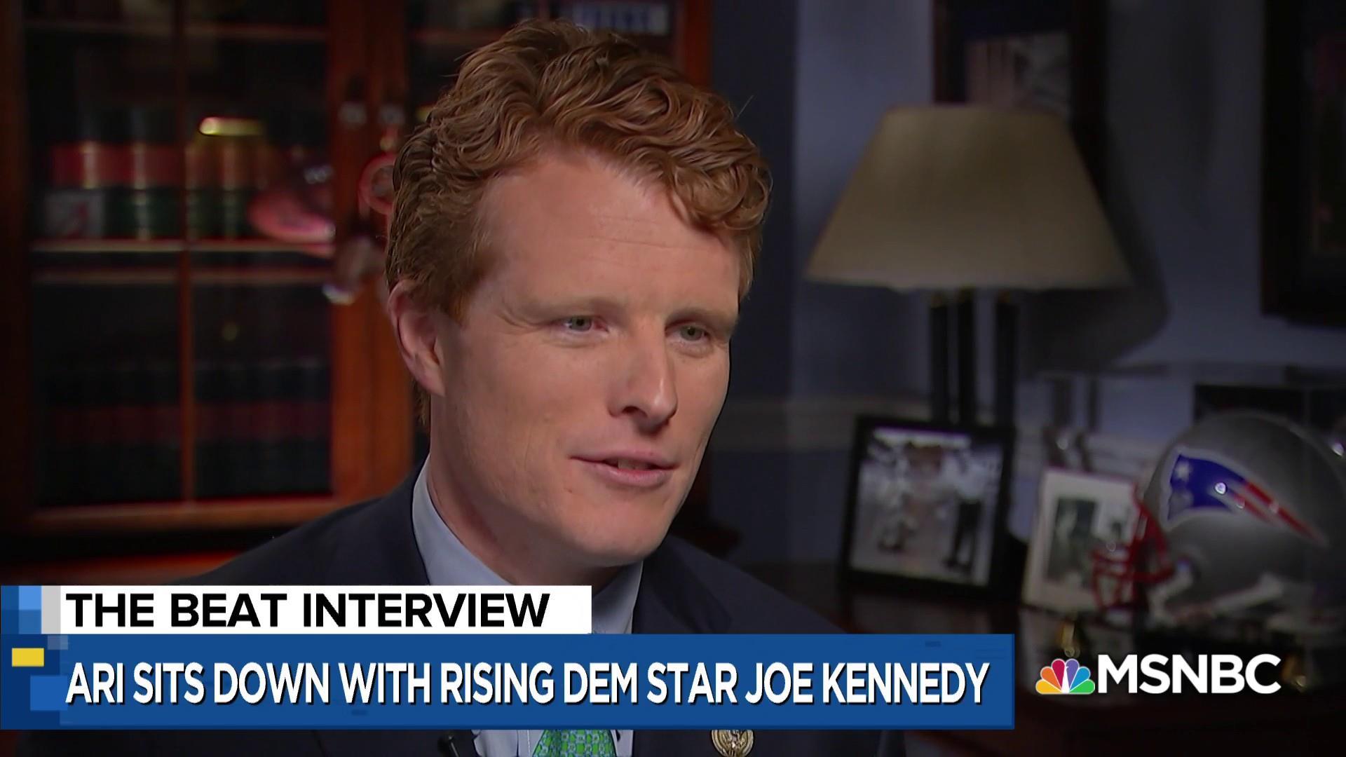 Watch Rep. Joe Kennedy compare Trump dynasty to Kennedy dynasty