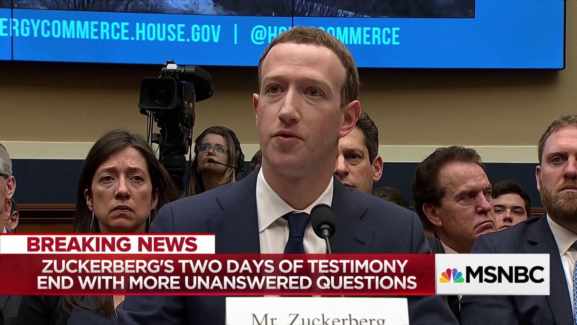 Ari Melber's two takeaways from Zuckerberg's testimony