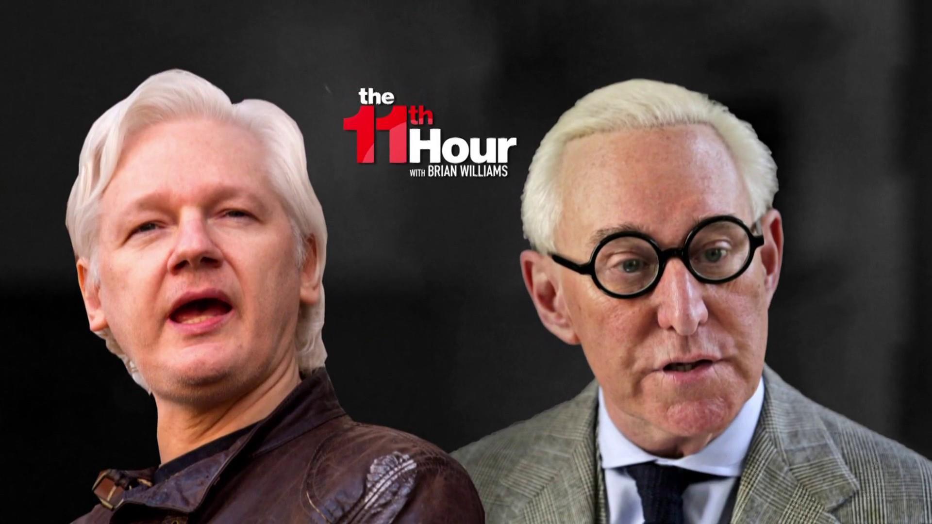 WSJ: Mueller probing Roger Stone's ties to Wikileaks' Assange