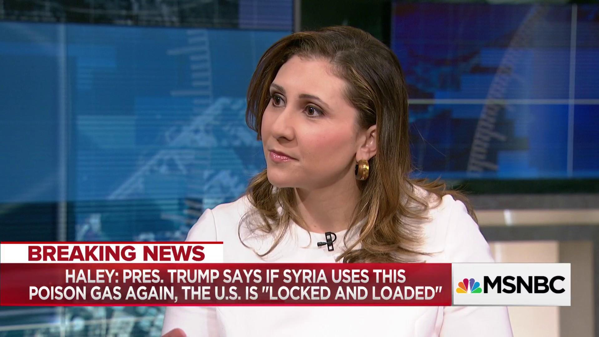 """What is the """"mission"""" in regards to Syria? Hagar Chemali talks U.S. policy on Syria"""