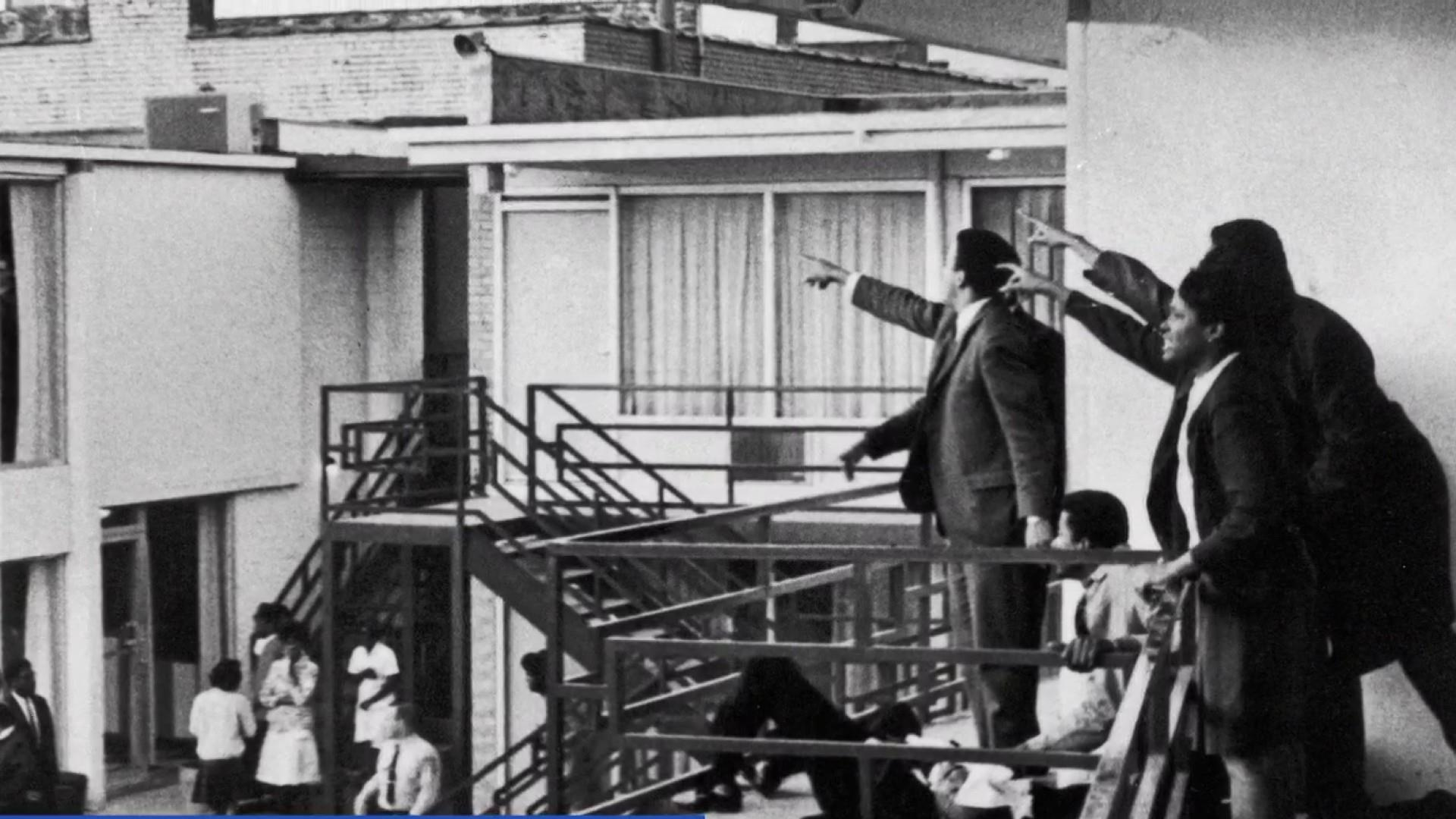 50 years later: Eyewitness opens up about MLK Jr. assassination