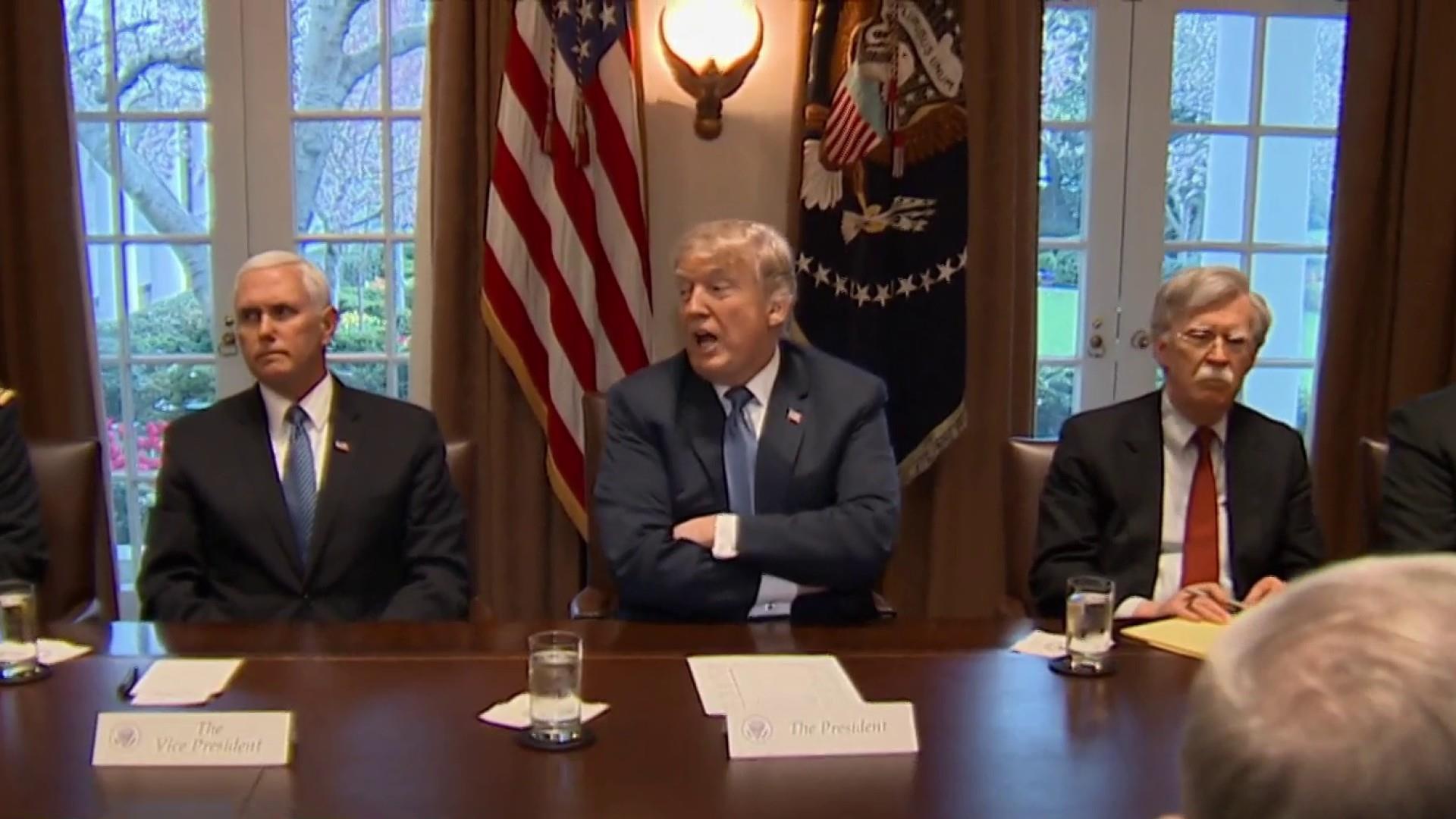 Trump cancels Latin America trip amid crisis in Syria