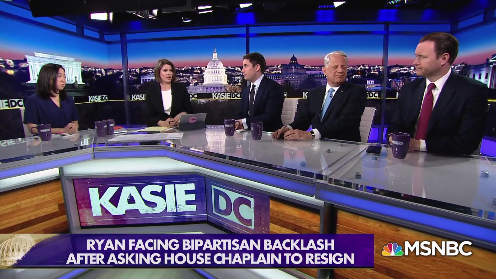 Firing of House Chaplain 'could have been handled better""
