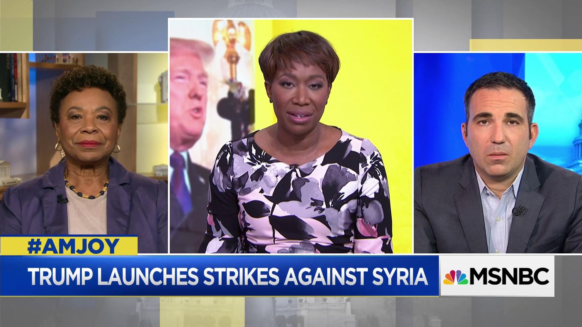 Rep. Barbara Lee: We need to hold Assad accountable