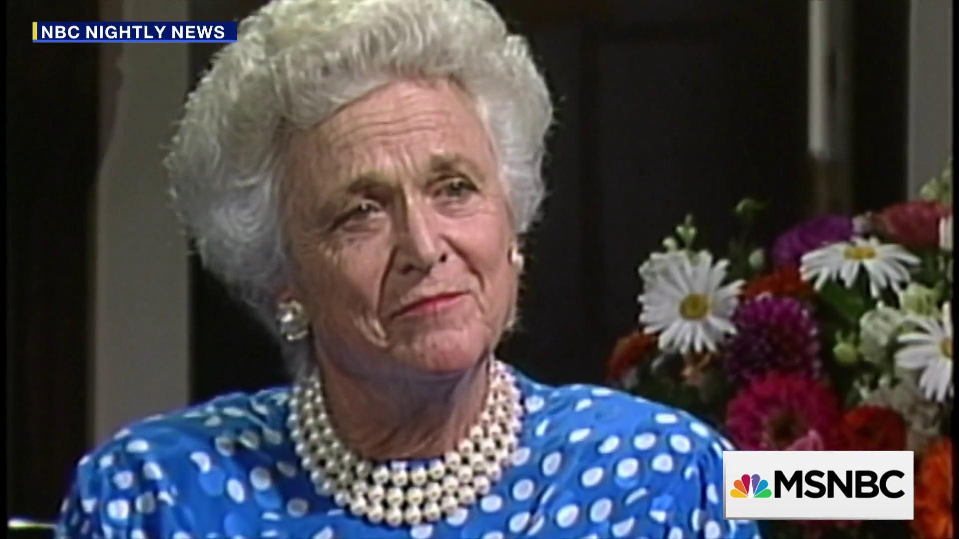 Remembering Barbara Bush