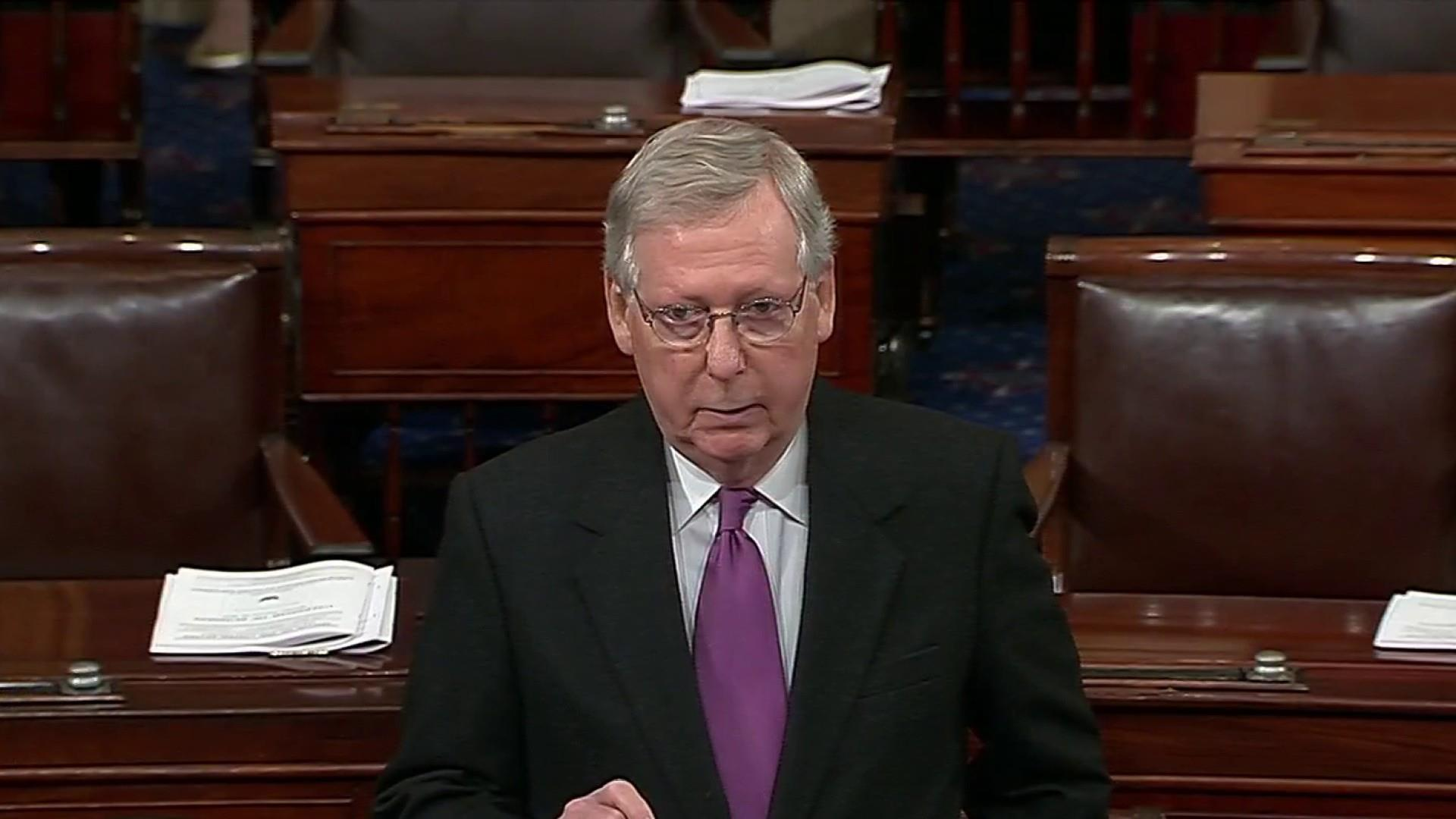 McConnell warns Cat 5 could hit GOP in November midterms