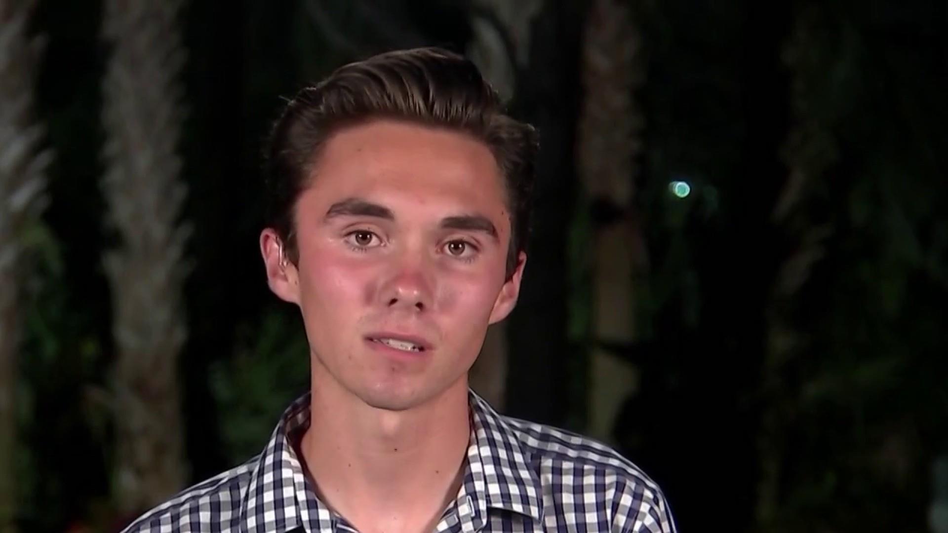 Parkland student David Hogg responds to attacks, boycott