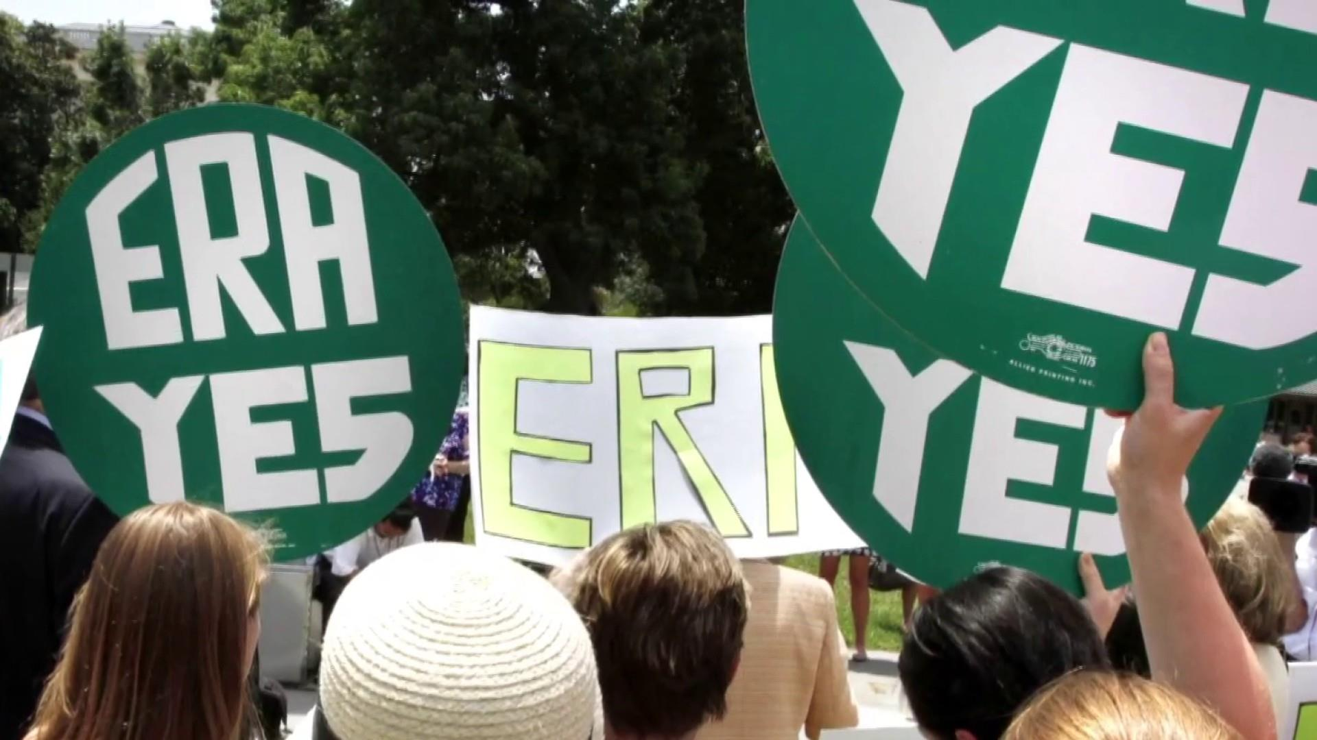 Equal Rights Amendment takes major step forward