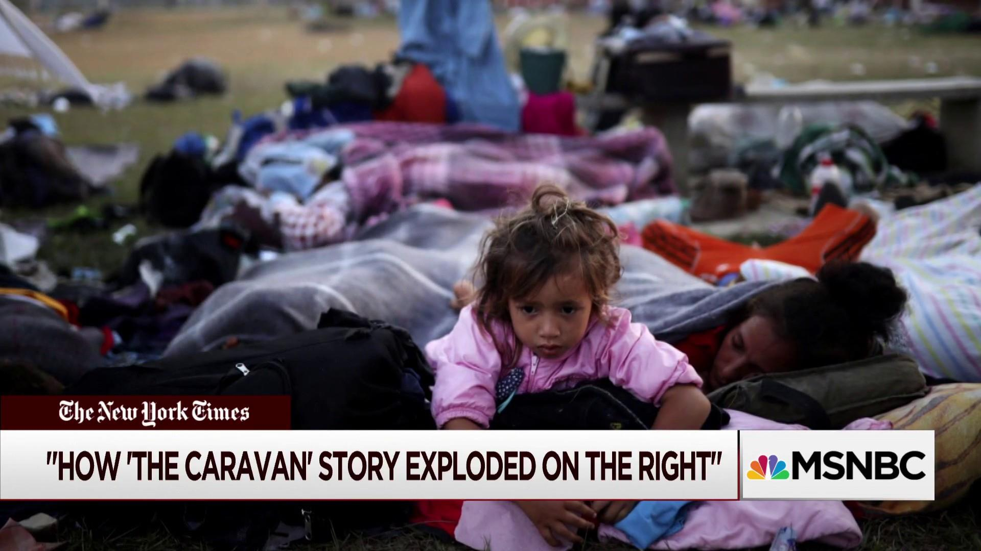 As Caravan Story Continues Some On Right Correct The Record