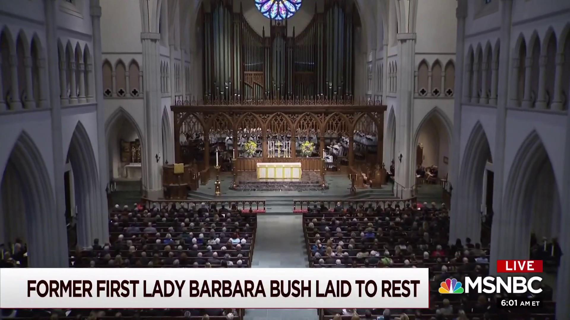 Meacham: Bush's service was for family and the American family