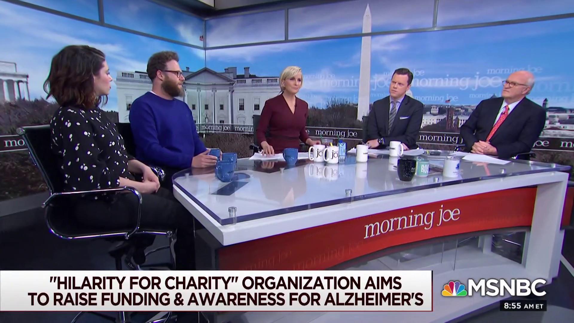 Seth, Lauren Rogen on why fighting Alzheimer's is personal