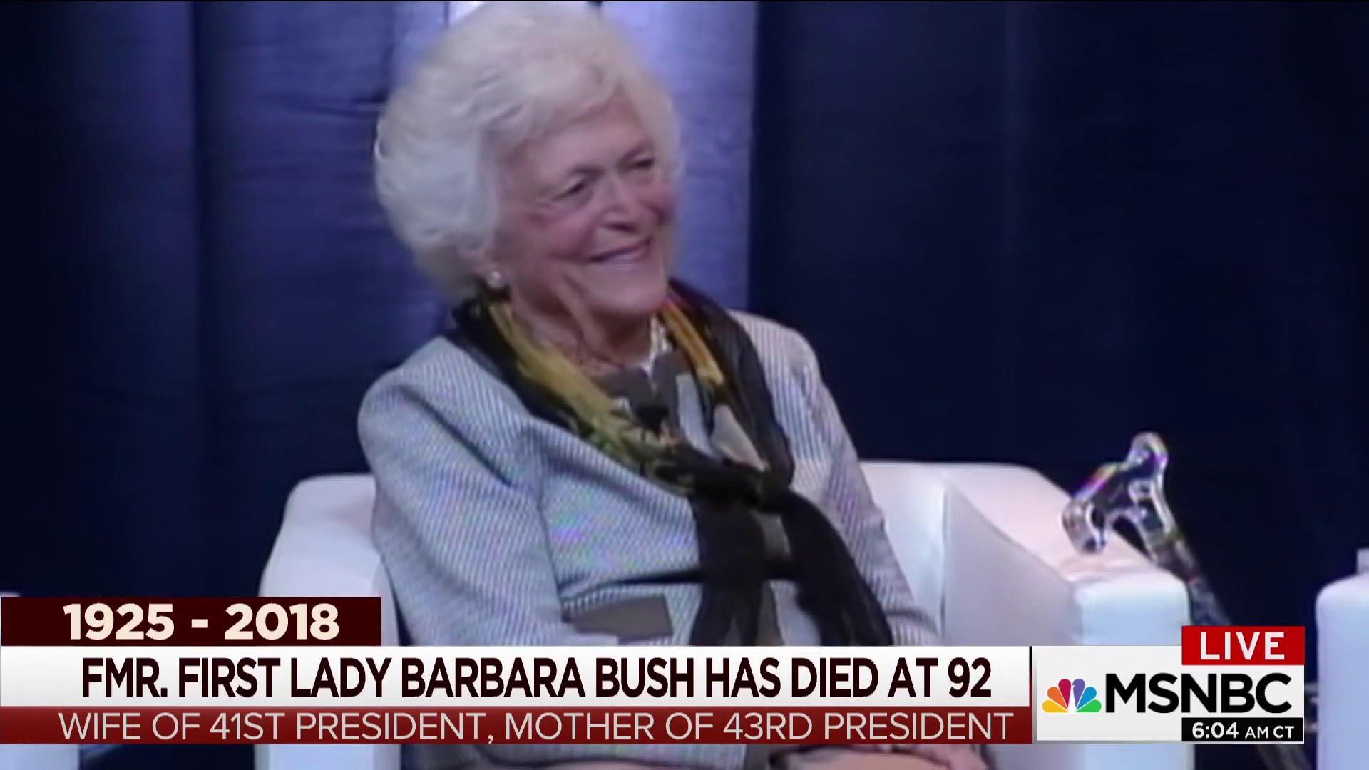 'An indispensible partner': Remembering Barbara Bush