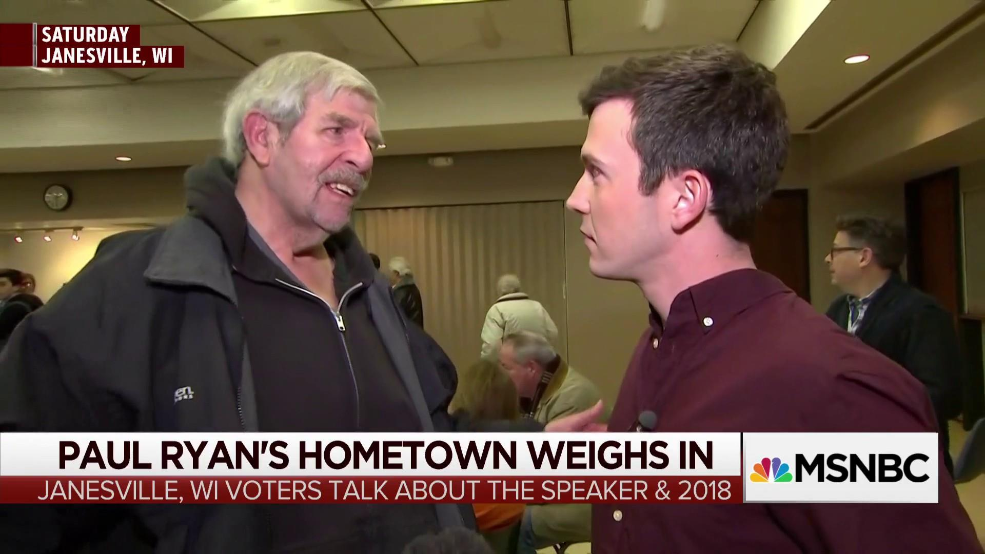 Janesvile voters have mixed feelings about Paul Ryan