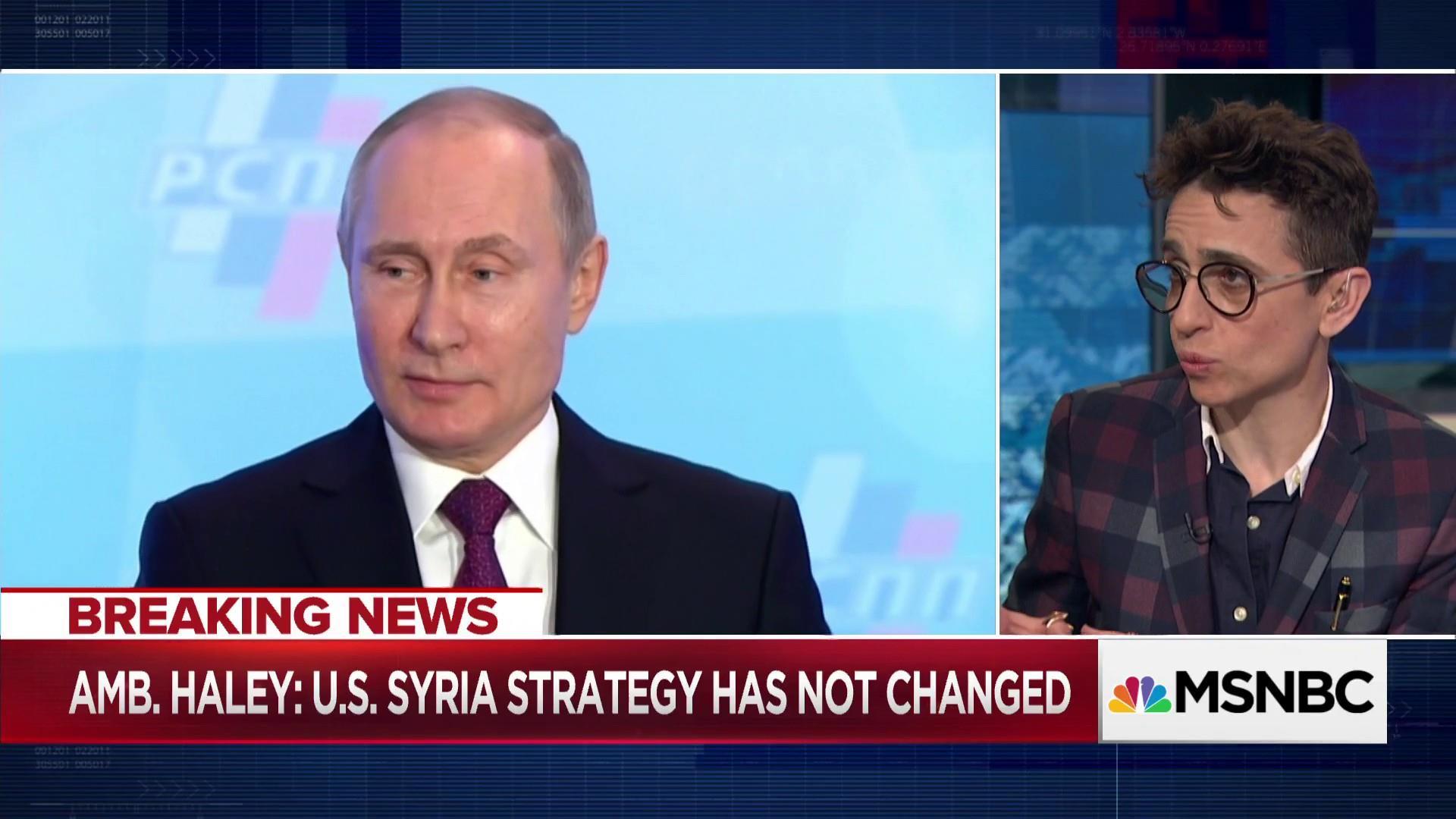 Gessen: Putin wants a rhetorical war without too many coffins