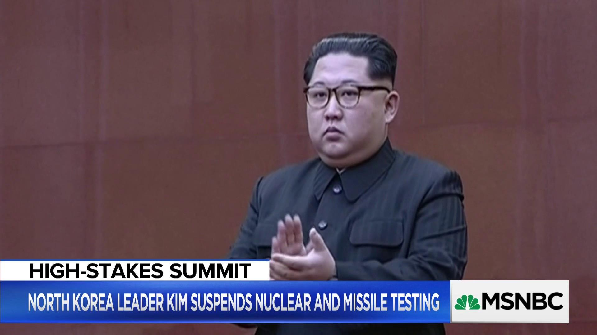 Failed talks with North Korea may lead to war