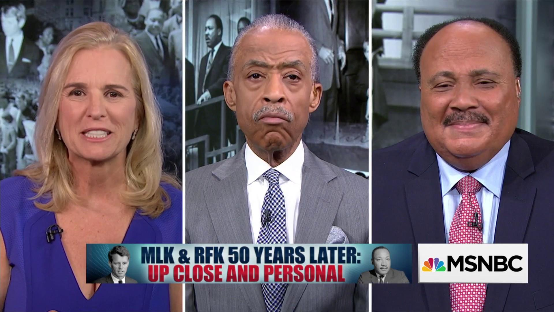 MLK & RFK 50 Years Later: Up Close and Personal
