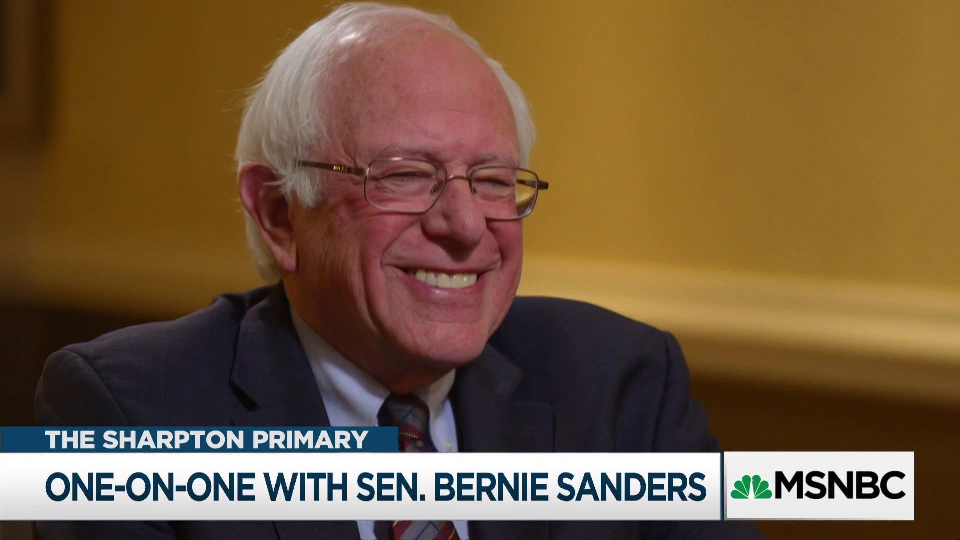 Rev. Al goes one-on-one with Sen. Bernie Sanders