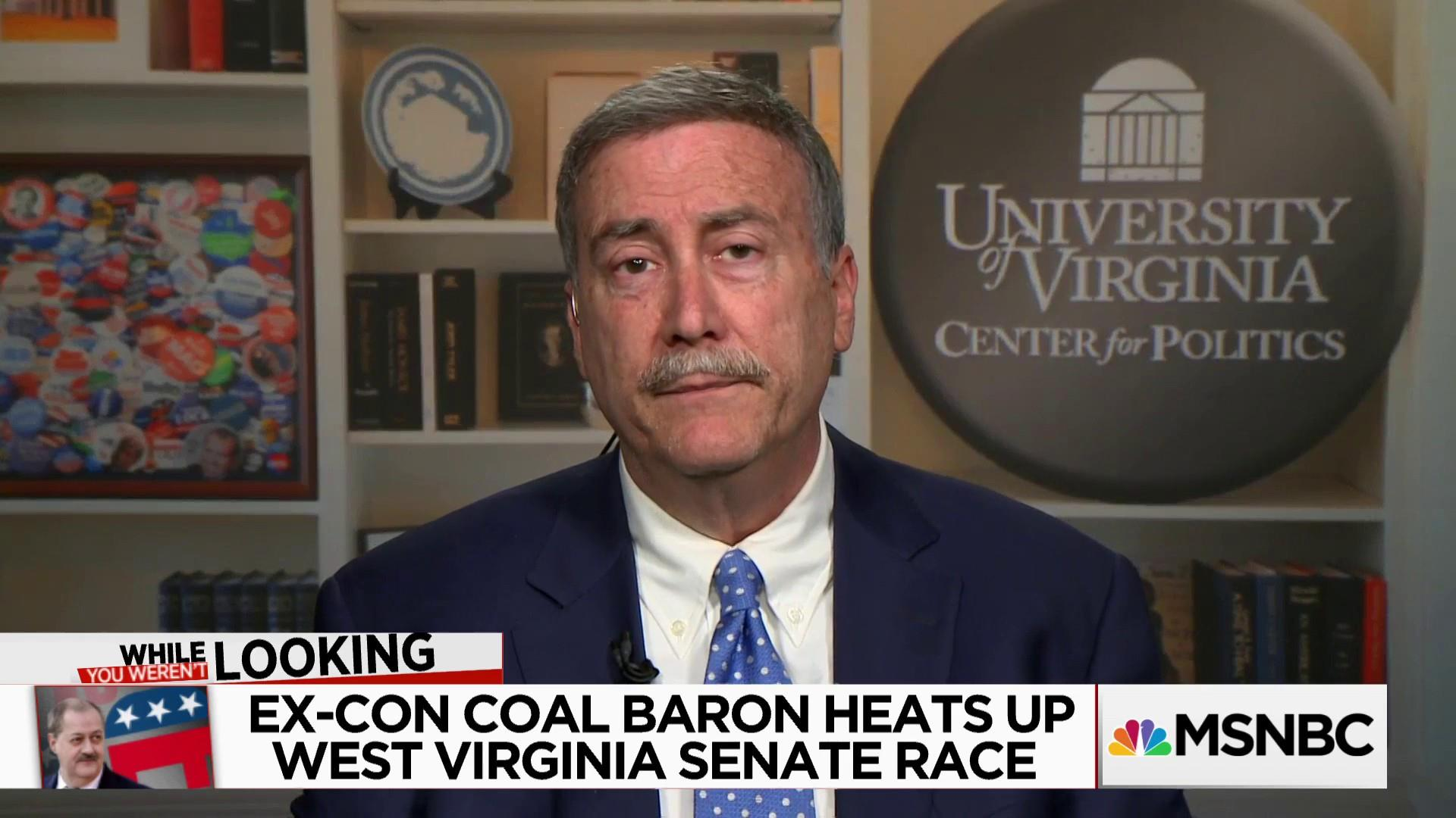 Could an ex-con coal baron win WV Senate Seat?