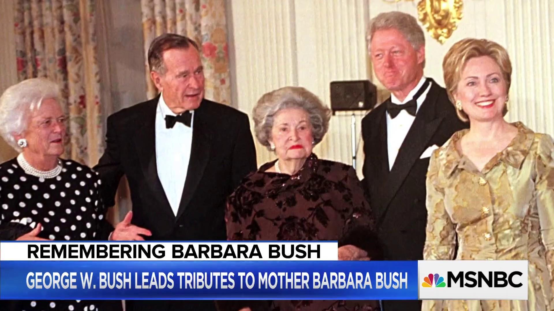 Former Bush Chief of Staff reflects on the life of Barbara Bush