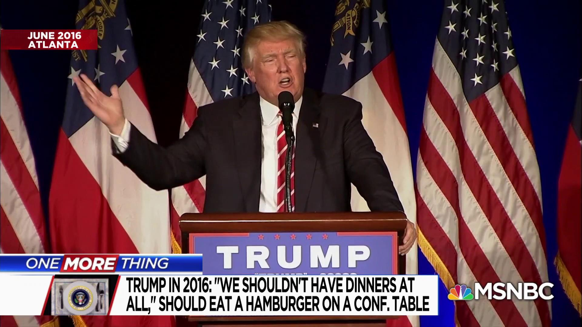 One More Thing: Tonight's State Dinner