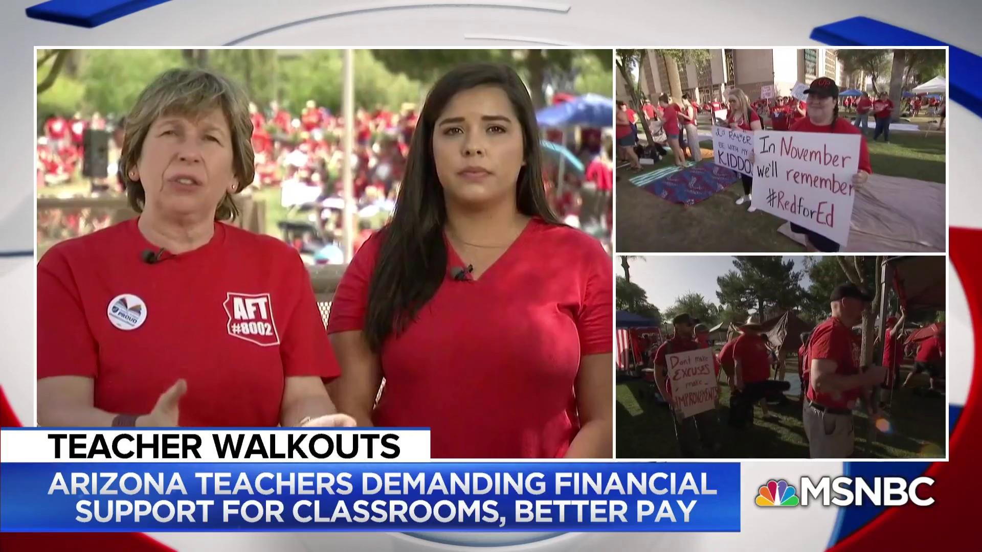 AZ Teacher explains why the walkout is needed