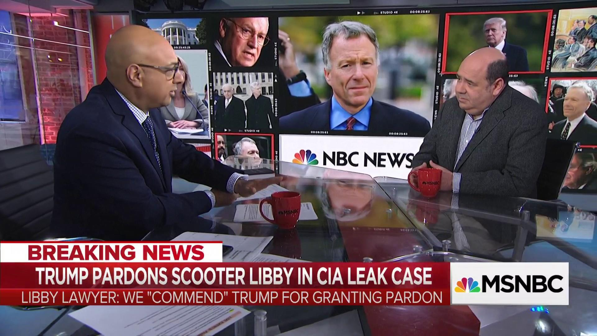 Journalist who testified against Scooter Libby speaks out about Trump's pardon