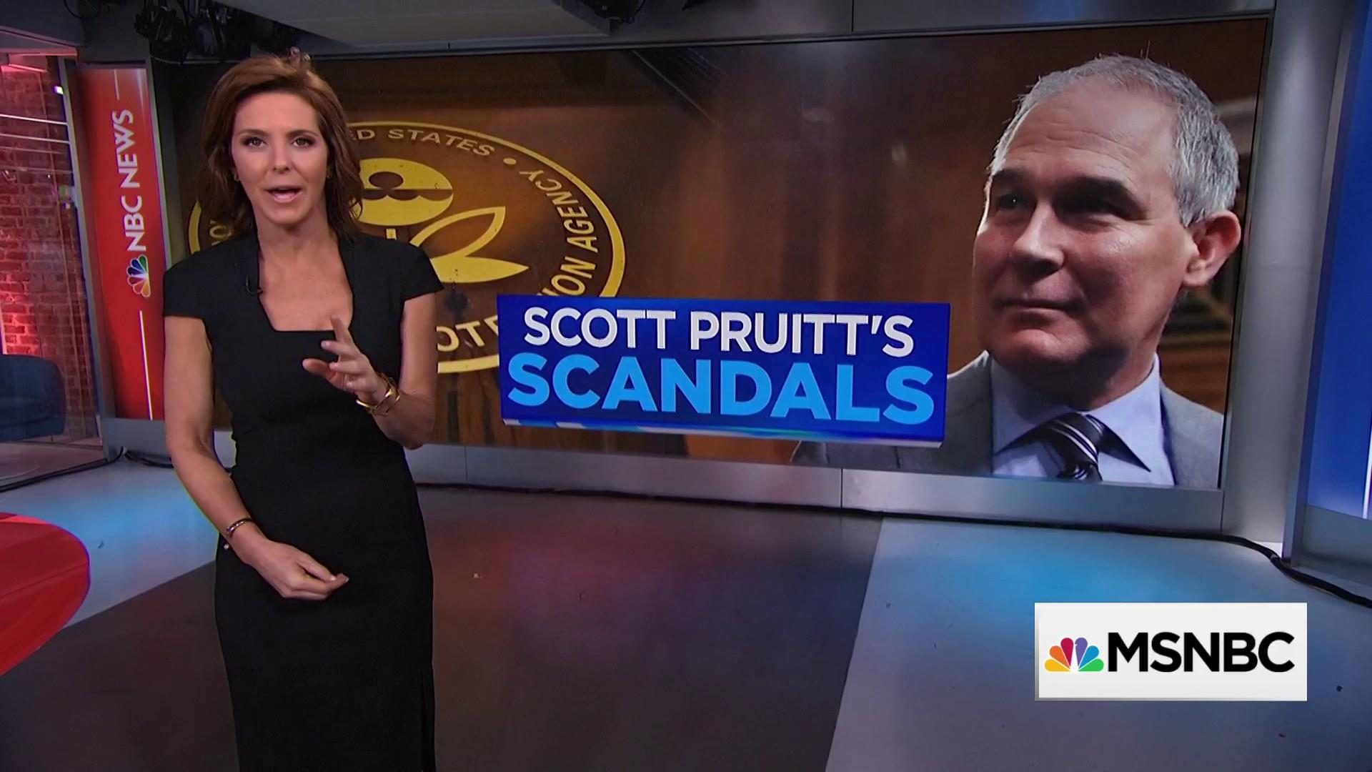 Pruitt's potential conflicts of interest and ethics violations
