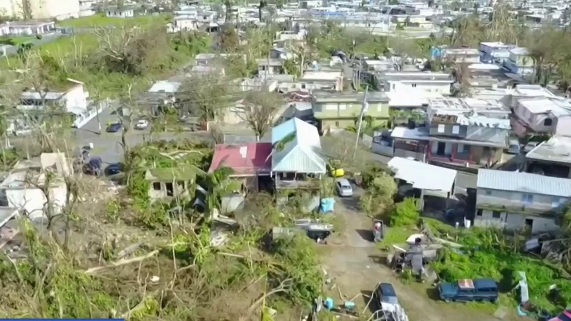 The state of Puerto Rico after another power outage