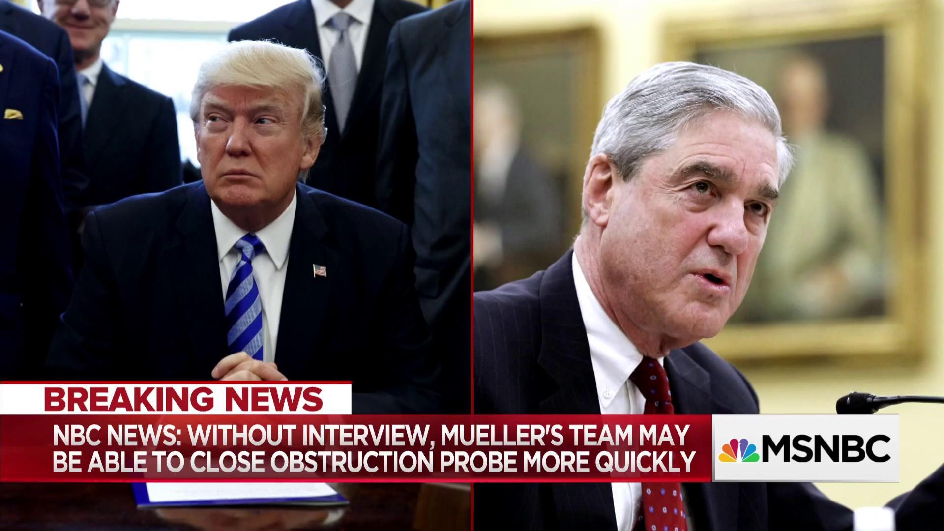 Talks between Robert Mueller and Pres  Trump teams collapse after FBI raid  on Michael Cohen