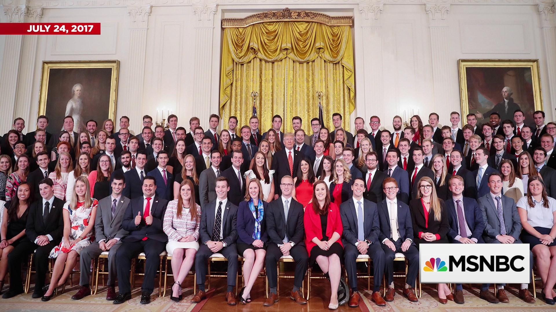 Diversity in the White House intern class: Why it's important