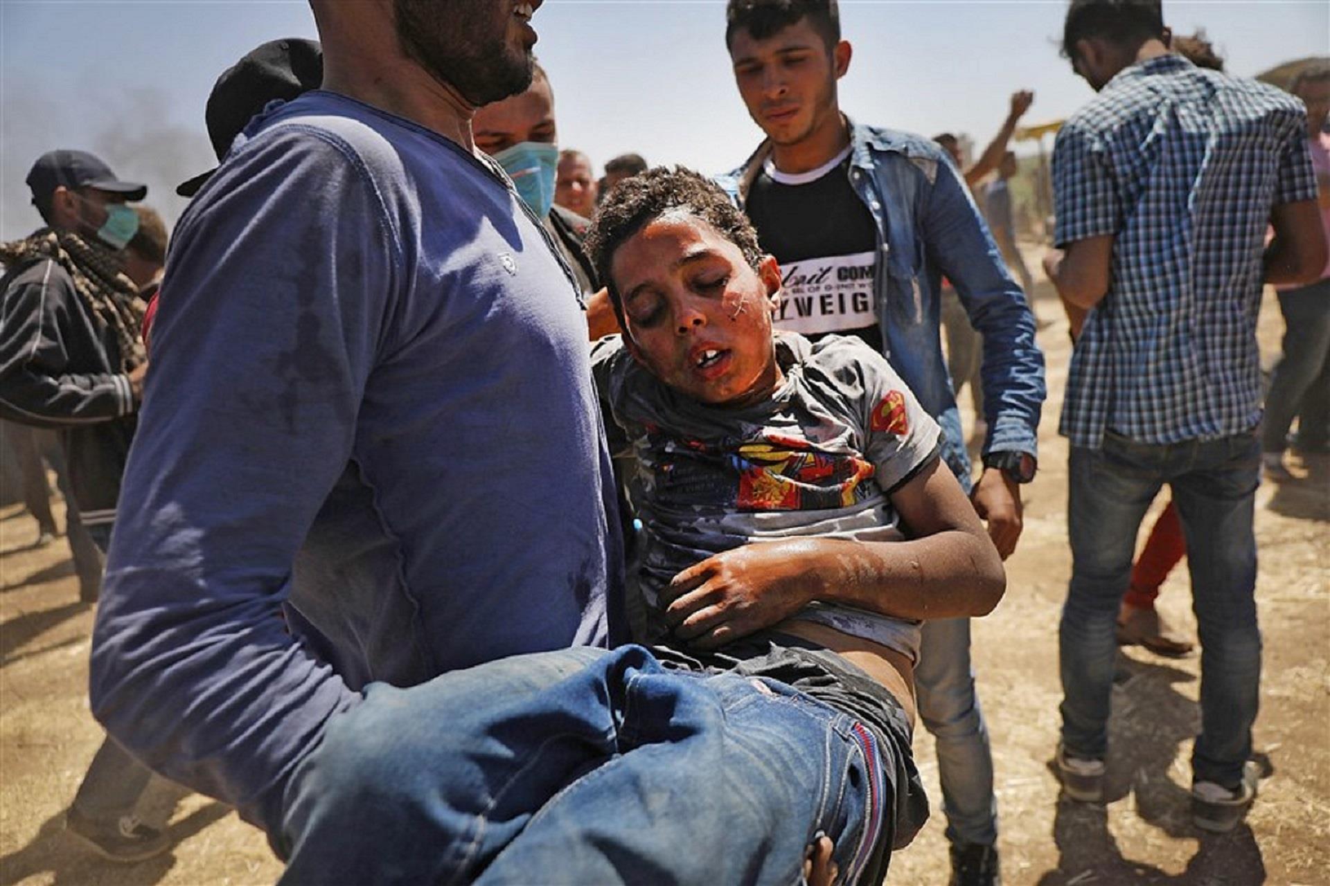 Deadliest day in Gaza in years as U.S. embassy in Jerusalem opens