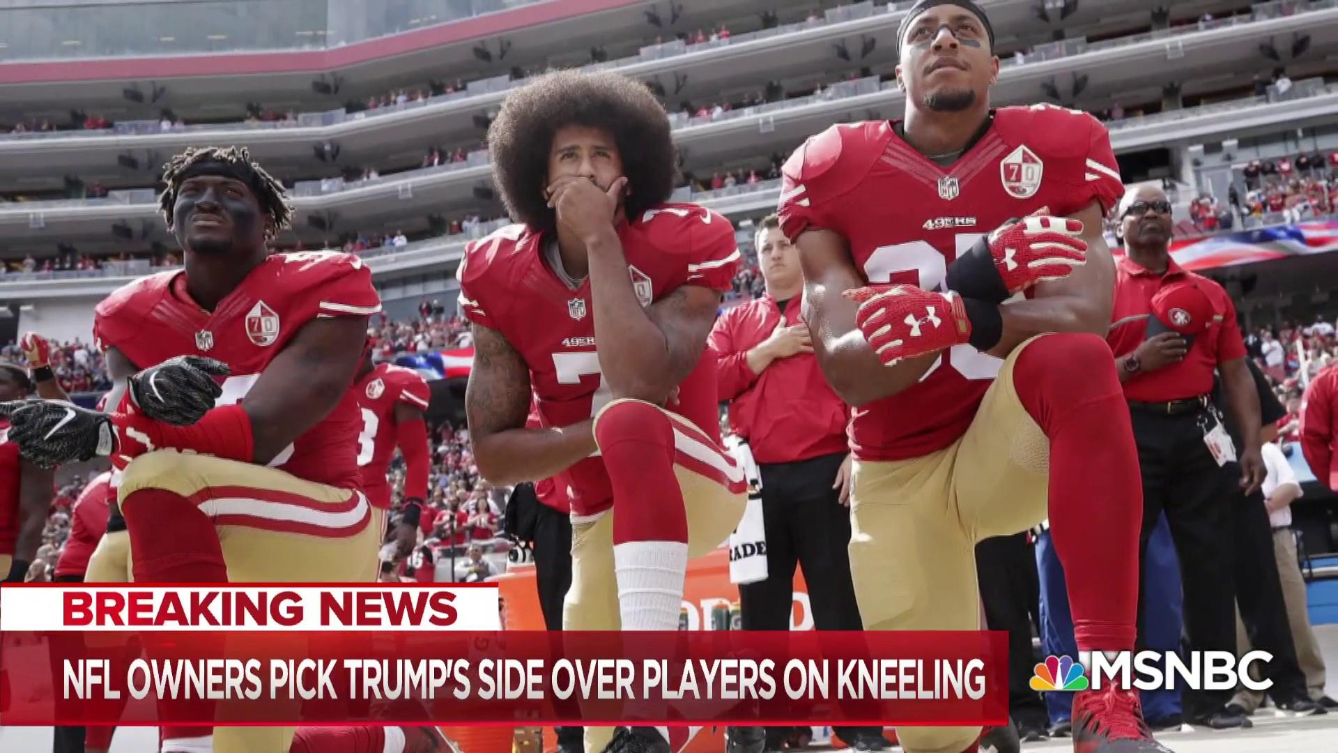Fmr. NFL star slams Trump, says players will fight anthem decision