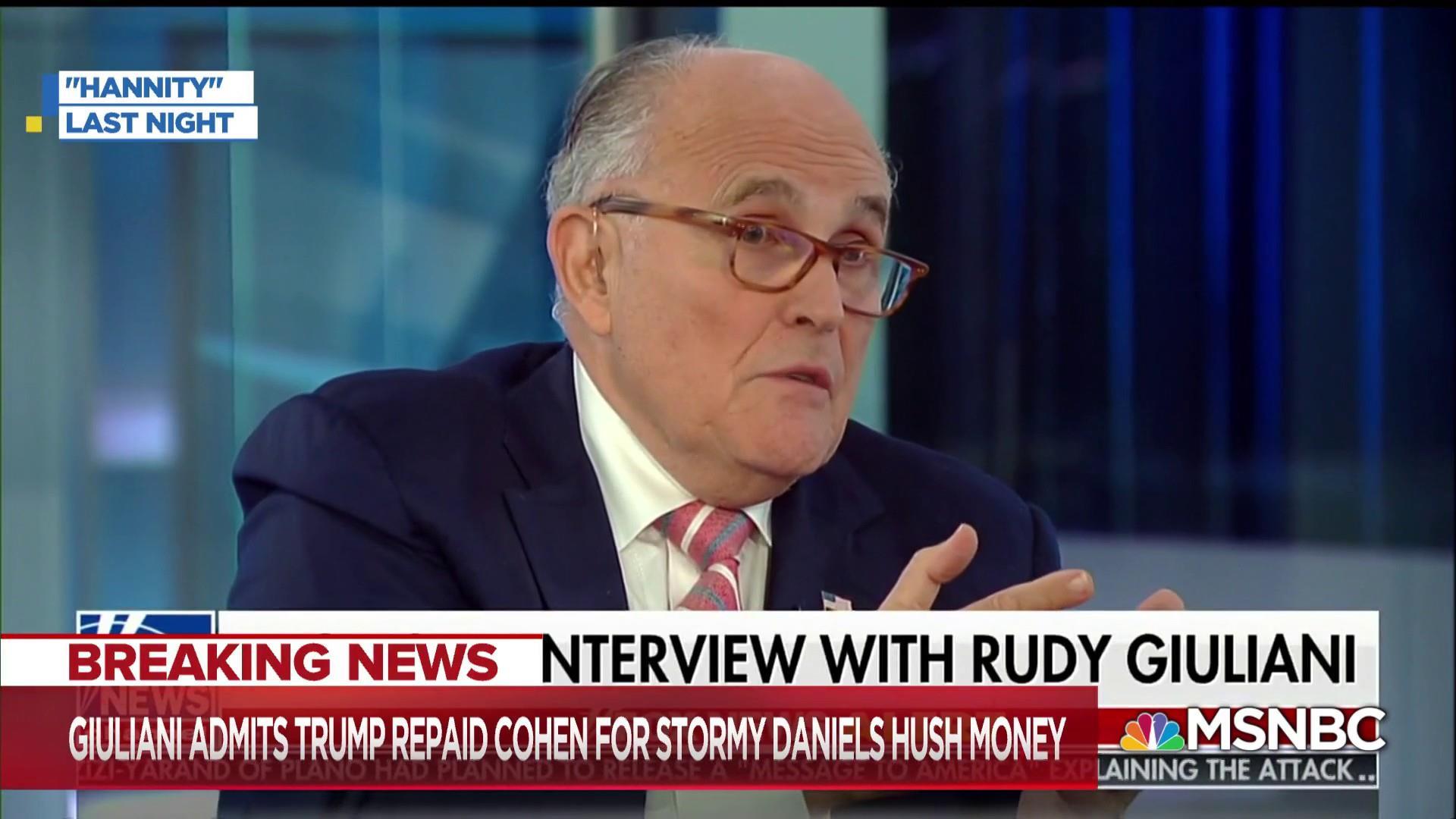 Watchdog: Giuliani gave us 'strong evidence' of violation